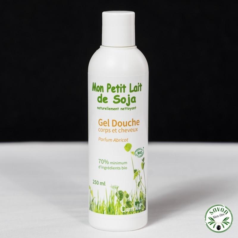 Gel douche Bio - Mon Petit Lait de Soja - Parfum abricot - 250 ml