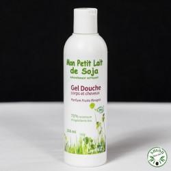 Gel douche Bio - Mon Petit Lait de Soja - Parfum fruits rouges - 250 ml