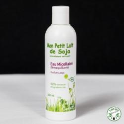 Eau Micellaire Démaquillante Bio - Mon Petit Lait de Soja - Parfum Lotus - 250 ml