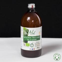 Pur gel d'Aloé Vera à boire - Bio et Equitable - Pur Aloé- 1L