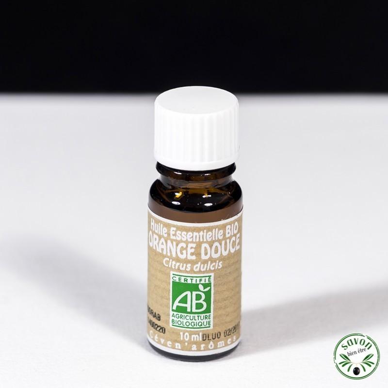 Huile essentielle Bio - Orange Douce - 10 ml - Ceven'Arômes