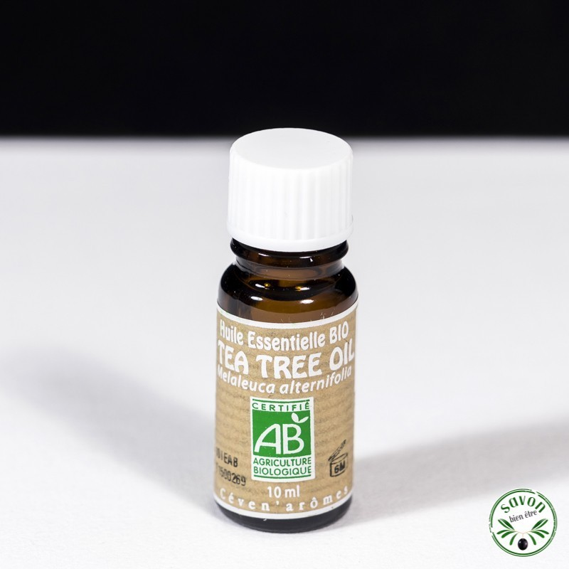 Huile essentielle Bio - Tea Tree Oil (Arbre à Thé) - 10 ml - Ceven'Arômes