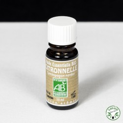 Huile essentielle Bio - Citronnelle - 10 ml - Ceven'Arômes