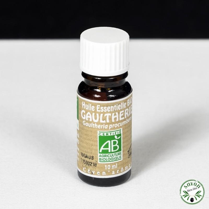 Huile essentielle Bio - Gaulthérie - 10 ml - Ceven'Arômes
