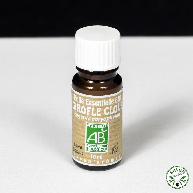 Huile essentielle Bio - Girofle Clous- 10 ml - Ceven'Arômes