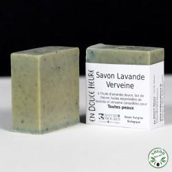Savon Lavande Verveine certifié bio Nature & Progrès - 100g