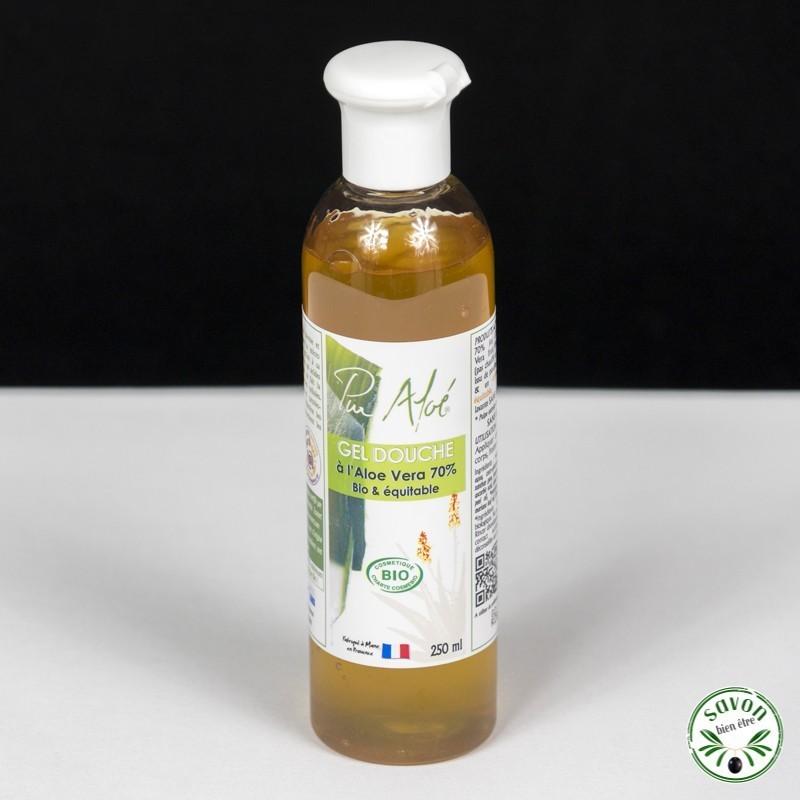 Gel douche Aloé vera - Bio et Equitable - Pur Aloé - 250 ml