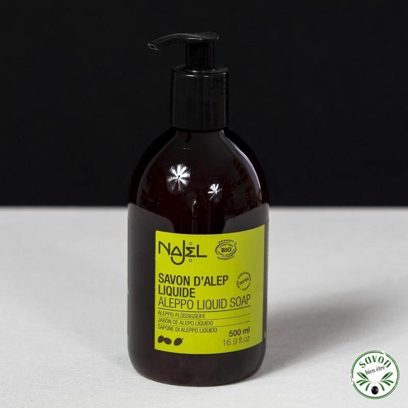 savon d'alep liquide najel
