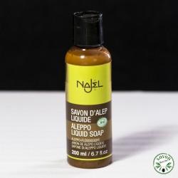Savon d'Alep liquide Bio Najel 200 ml