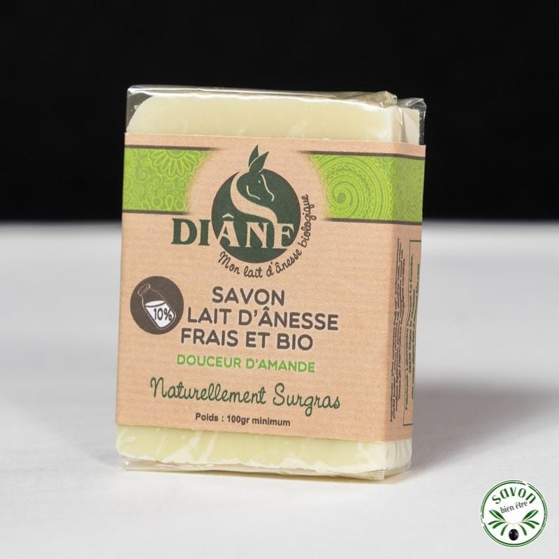 Savon Douceur d'amande au lait d'ânesse frais et bio