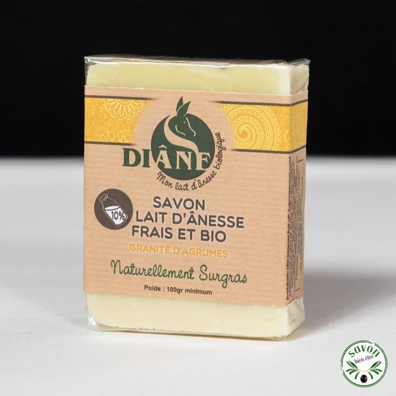 Savon Granités d'Agrumes au lait d'ânesse frais et bio