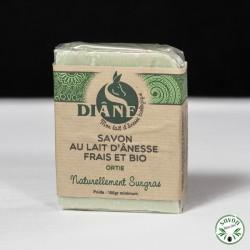 Savon Ortie au lait d'ânesse frais et bio