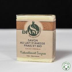 Savon Cacao Crémeux au lait d'ânesse frais et bio